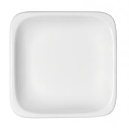 Lot de 6 assiettes plates carrées