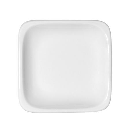 Lot de 6 assiettes plates carrées 1152/12