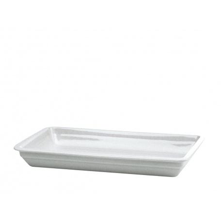 Plat en porcelaine GN 1/1 - h65 - de la gamme Séquence