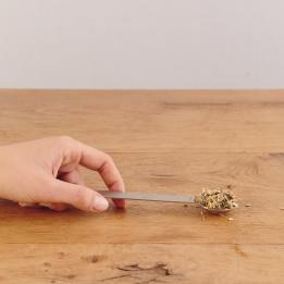 Cuillère doseuse pour thés et infusions