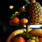 fresh fruits on buffet