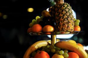fresh fruits on buffet